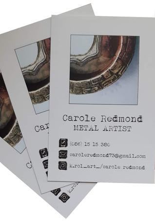 Carole Redmond Metal Artist
